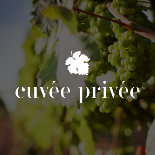 Logo Cuvée Privée blanc
