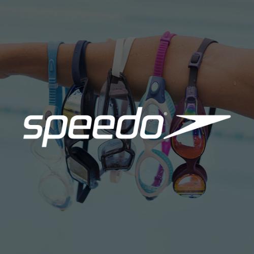 Logo Speedo blanc
