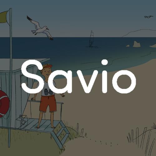 Logo blanc Savio
