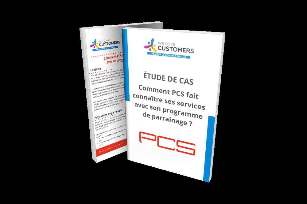 Mockeup étude de cas PCS