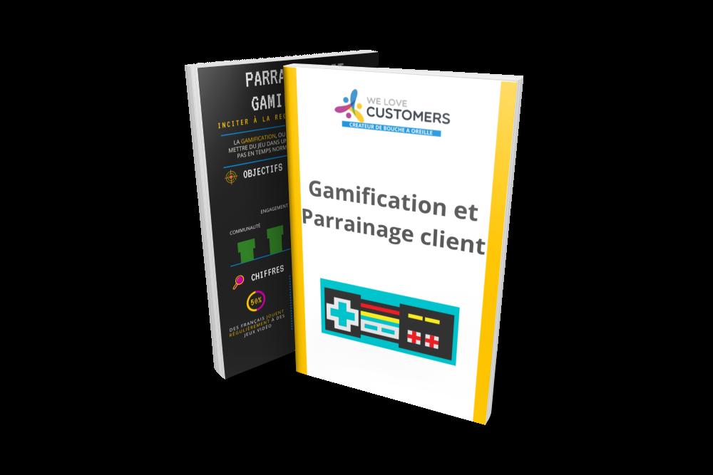 Mockup Infographie Gamification et parrainage client